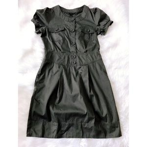 Marc by Marc Jacobs gray cotton dress, size 12